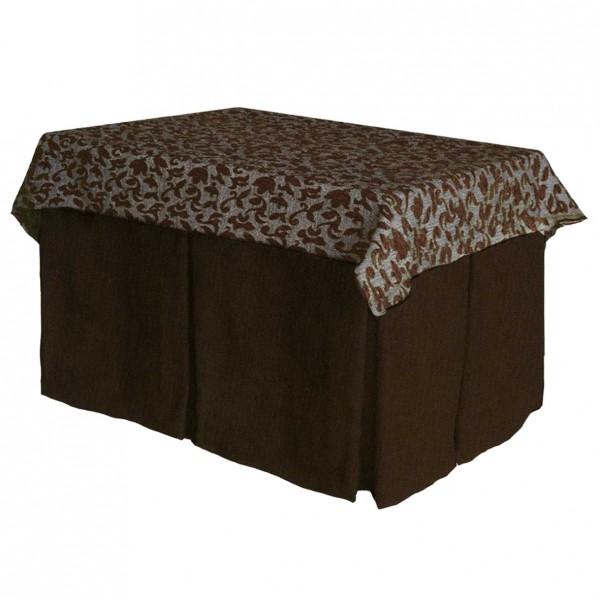 mesa camilla rectangular en pino o fibra