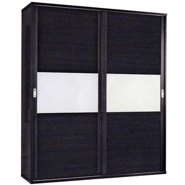 Armario de 2 puertas correderas moderno barato for Armario deslizante barato