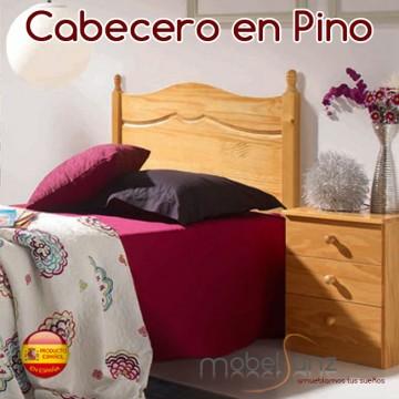 CABECERO MADERA DE PINO MÁLAGA