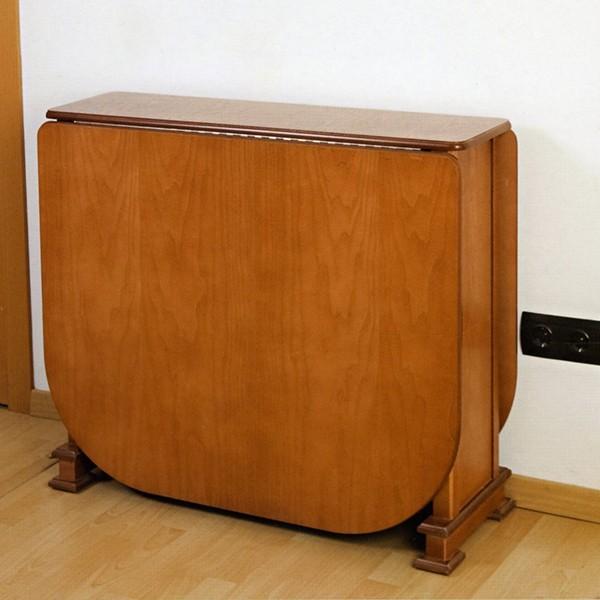 Mesa de alas abatibles clasica moderna en madrid for Mesa alas abatibles