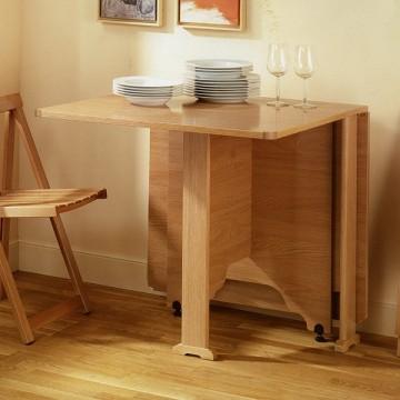 Mesa de alas abatibles robusta en madrid - Mesas de libro para cocina ...