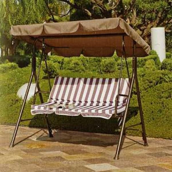 Balanc n relax exterior muebles mobelsanz for Balancin para jardin