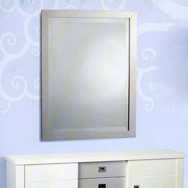 Espejo de pared rectangular moderno clasico for Espejo horizontal salon