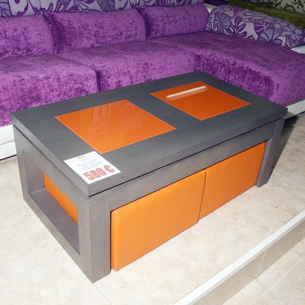 Mesa de centro elevable liquidaci n muebles mobelsanz for Liquidacion muebles jardin