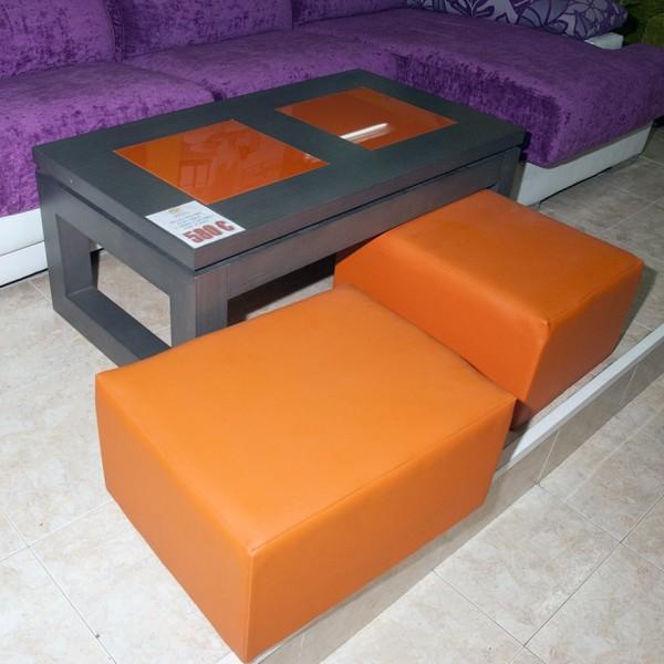 Mesa de centro elevable liquidaci n muebles mobelsanz for Liquidacion mesas sillas jardin