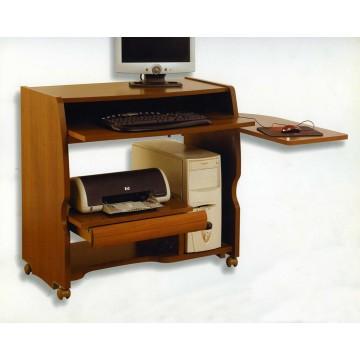 Mesa de ordenador multifuncional con ruedas for Mesa de ordenador con ruedas