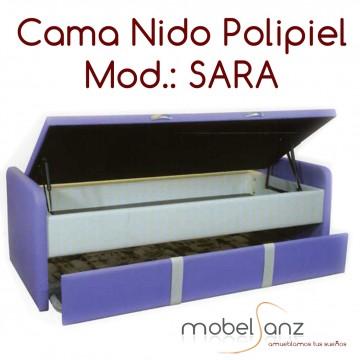 CAMA NIDO CANAPE POLIPIEL