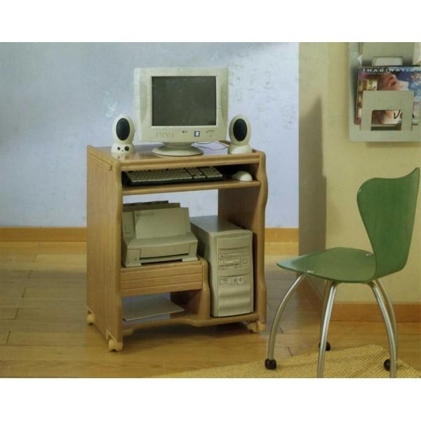 Mesa de ordenador con ruedas robusta y funcional - Mesas de ordenador con ruedas ...