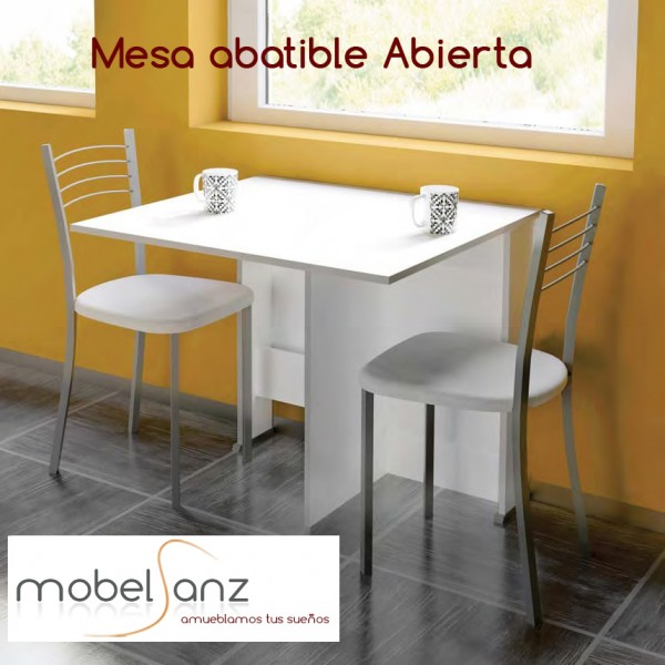 Mesa abatible de cocina de madera - Mesa abatible de pared carrefour ...