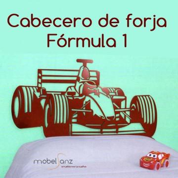 CABECERO DE FORJA FÓRMULA 1