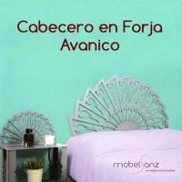 CABECERO DE FORJA AVANICO
