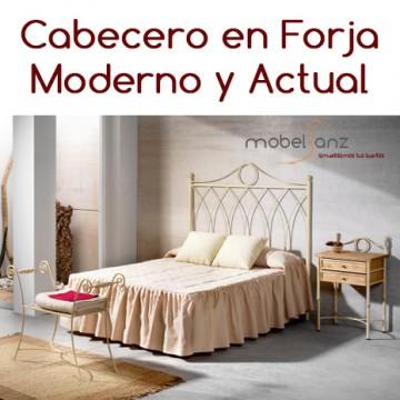 CABECERO EN FORJA CLÁSICO KAREN