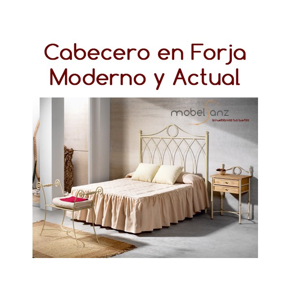 Cabecero en forja clasico moderno - Cabeceros en forja ...
