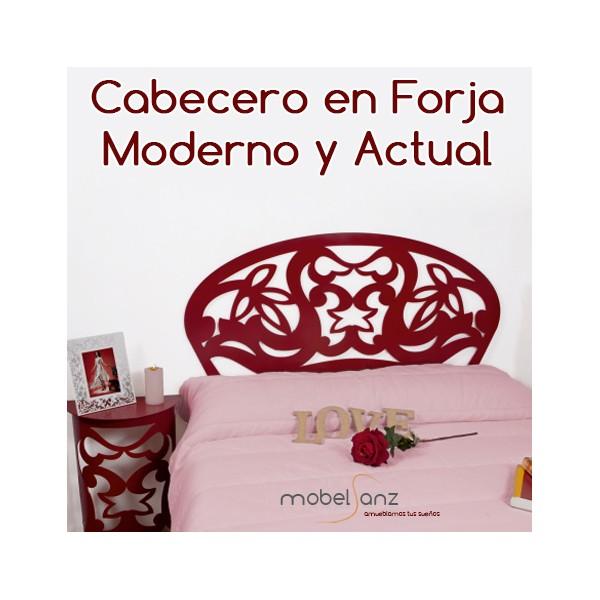 Cabecero en forja moderno y barato - Cabeceros en forja ...