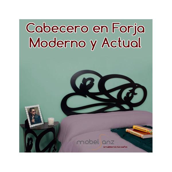 Cabecero de forja moderno barato tilsa - Cabecero forja moderno ...