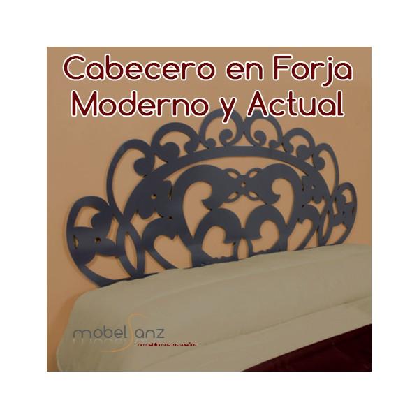 Cabecero de forja moderno barato debra - Cabecero forja moderno ...