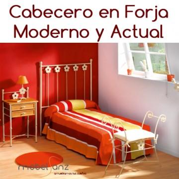CABECERO EN FORJA NIÑOS BETTY