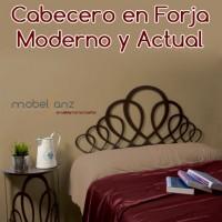 CABECERO EN FORJA MODERNO