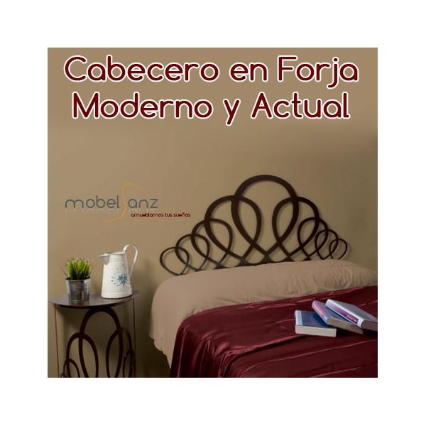Cabecero de forja moderno barato fanuka - Cabeceros forja modernos ...