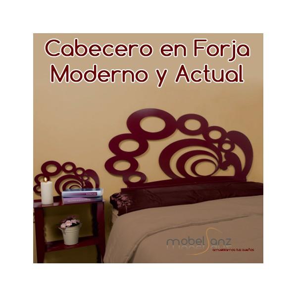Cabecero de forja moderno barato atenea - Cabecero forja moderno ...
