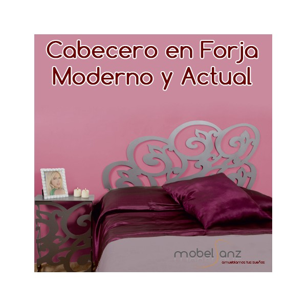 Cabecero de forja moderno y original barato - Cabeceros en forja ...