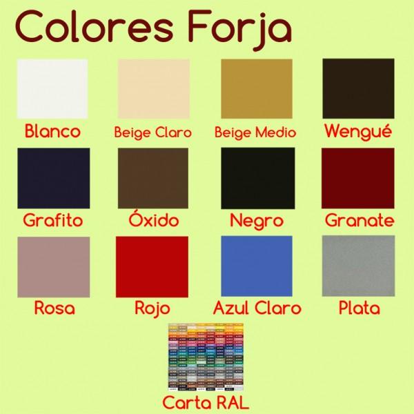 Cabecero de forja moderno y original barato cirenia - Cabeceros forja modernos ...