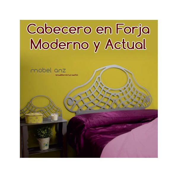 Cabecero de forja moderno y original barato galena - Cabecero forja moderno ...