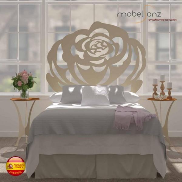 Cabecero de forja moderno rosas - Cabeceros forja modernos ...