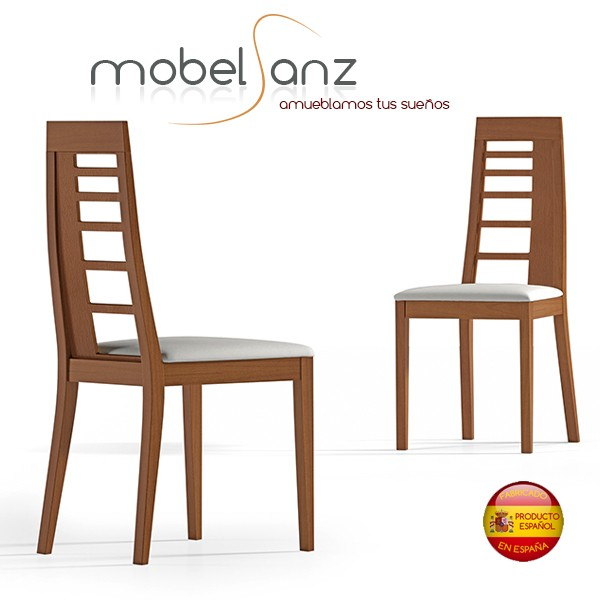 Sillas de salon modernas finest silla with sillas de for Sillas comedor modernas polipiel