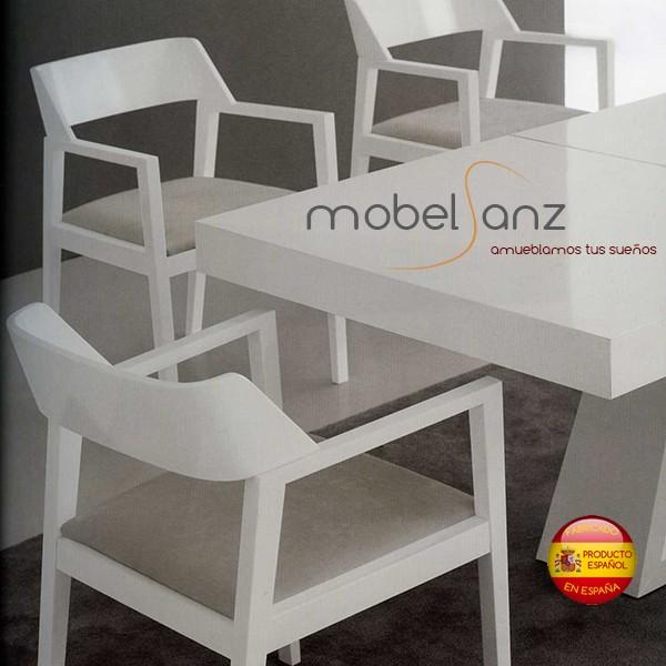 Silla o sillon de salon con brazos moderna Sillon moderno salon