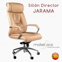 SILLÓN DE DIRECTOR EN PIEL