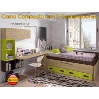 CAMA COMPACTA JUVENIL