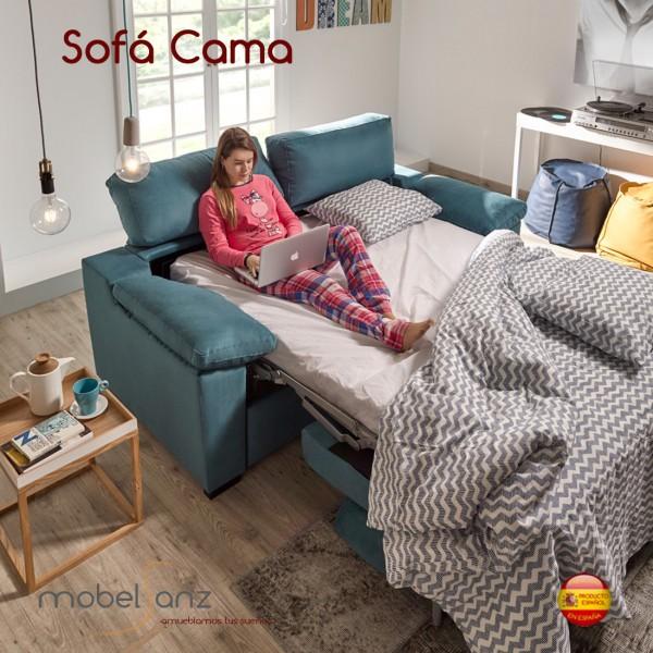 Sofa cama italiano for Sofas cama dos plazas sistema italiano