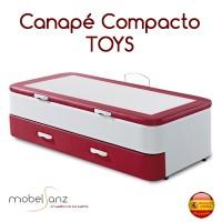 COMPACTO CANAPÉ TAPIZADO TOYS