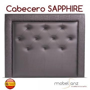 CABECERO TAPIZADO POLIPIEL SAPPHIRE