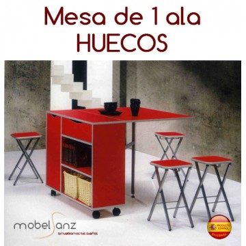MESA DE ALAS HUECOS
