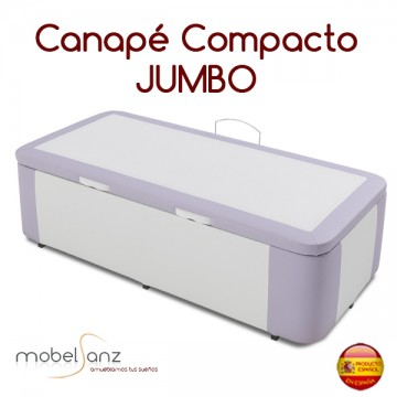 CANAPÉ BAÚL JUGETERO ABATIBLE TAPIZADO JUMBO