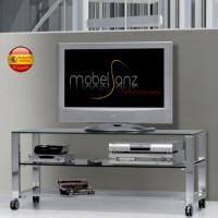 MESA DE TELEVISIÓN MODERNA DE CRISTAL DE 125