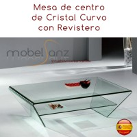 MESA DE CENTRO DE CRISTAL MINI