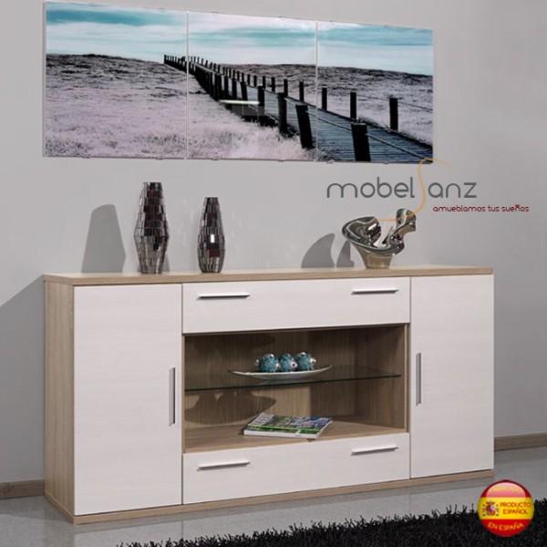 Mueble aparador auxiliar moderno para salon - Aparadores salon modernos ...