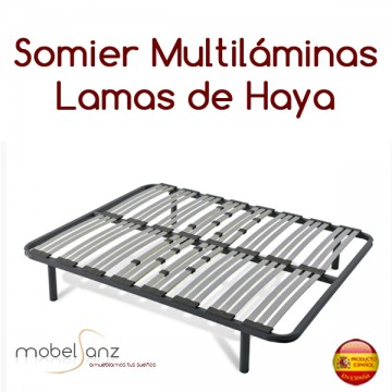 SOMIER MULTILÁMINAS TRIPLE