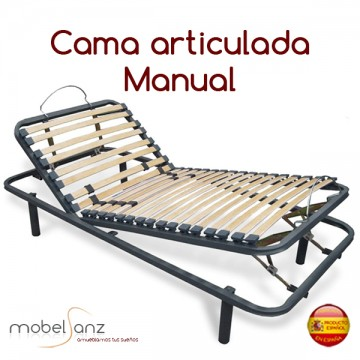 CAMA ARTICULADA MANUAL
