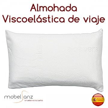 ALMOHADA VISCOELÁSTICA DE VIAJE