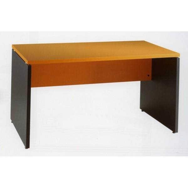 Mesa de oficina o estudio de madera for Mesas para oficina precios