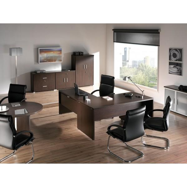 Mesa de oficina o estudio de madera - Mesas de estudio ...