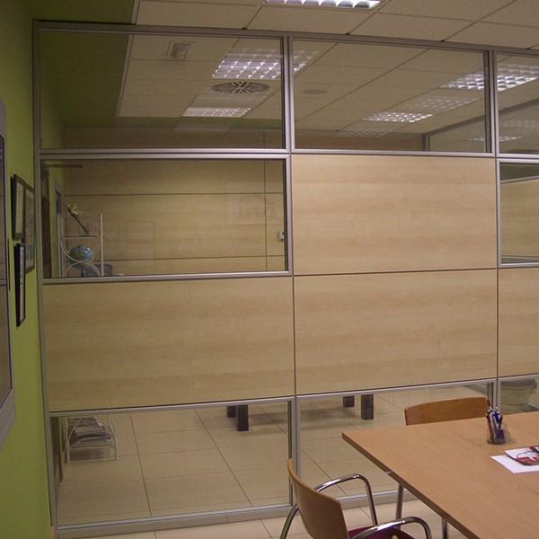 Mamparas de oficina muebles mobelsanz for Mamparas de oficina precios