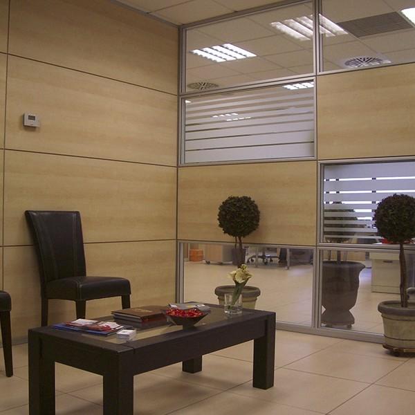 Mamparas de oficina muebles mobelsanz - Mamparas de oficina sevilla ...