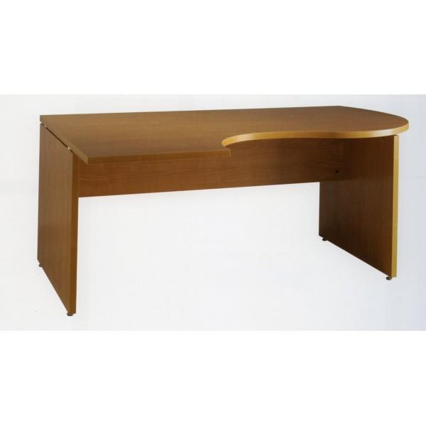Mesa de oficina o estudio de madera for Mesa oficina