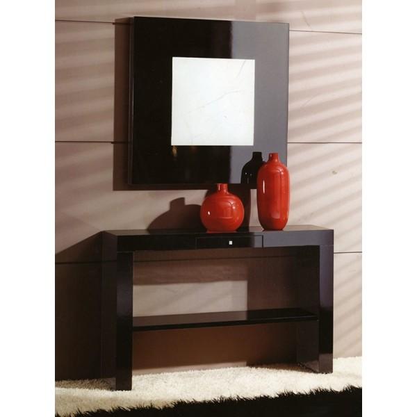 Mueble recibidor entrada consola con cajones moderno - Recibidores con espejo ...