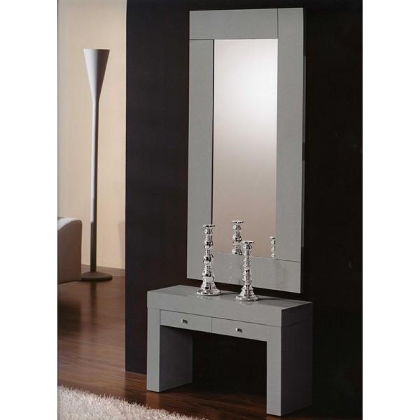 Recibidor con cajones muebles mobelsanz for Espejos grandes para recibidor